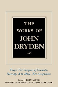 Cover The Works of John Dryden, Volume XI