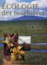 Cover Ecologie des tourbieres du Quebec-Labrador
