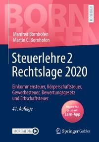 Cover Steuerlehre 2 Rechtslage 2020
