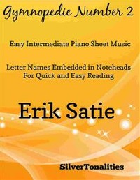 Cover Gymnopedie Number 2 Easy Intermediate Piano Sheet Music
