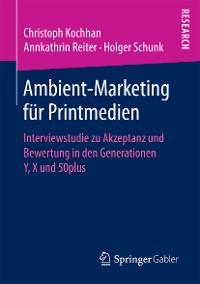 Cover Ambient-Marketing für Printmedien