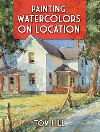 Cover Painting Watercolors on Location
