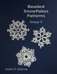 Cover Beaded Snowflake Patterns - Group 5