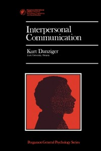 Cover Interpersonal Communication