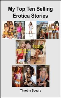 Cover My Top Ten Selling Erotica Stories