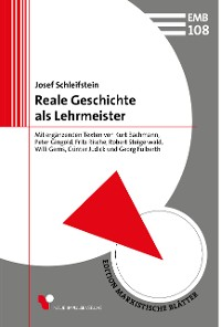 Cover Reale Geschichte als Lehrmeister