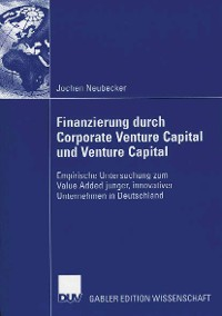 Cover Finanzierung durch Corporate Venture Capital und Venture Capital