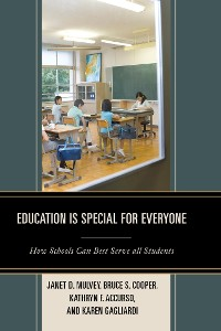 Cover Education is Special for Everyone
