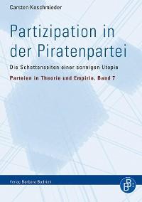 Cover Partizipation in der Piratenpartei