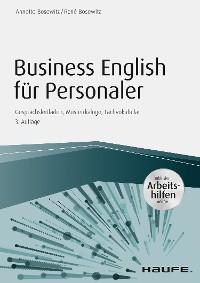 Cover Business English für Personaler  inkl. Arbeitshilfen online portal