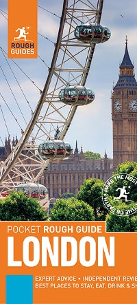 Cover Pocket Rough Guide London (Travel Guide eBook)