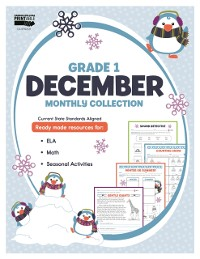 Cover December Monthly Collection, Grade 1