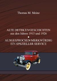 Cover ALTE DETEKTIVGESCHICHTEN