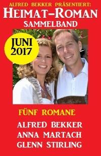 Cover Heimatroman Sammelband Fünf Romane Juni 2017