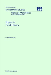 Cover Topics in Field Theory