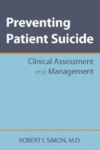 Cover Preventing Patient Suicide