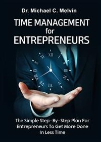 Cover Time Management For Entrepreneurs