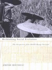 Cover Rethinking Social Evolution