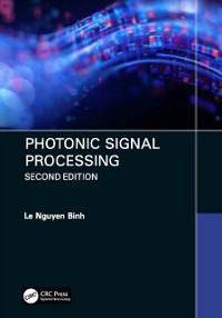 Cover Photonic Signal Processing, Second Edition