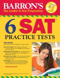 Cover 6 SAT Practice Tests
