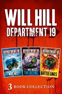 Cover Department 19 - 3 Book Collection (Department 19, The Rising, Battle Lines)