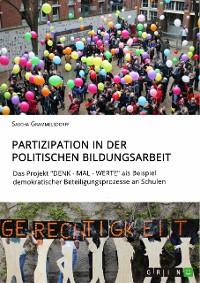 Cover Partizipation in der politischen Bildungsarbeit