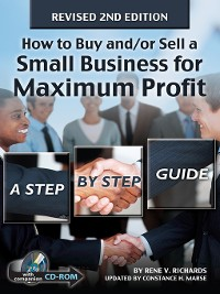 Cover How to Buy and/or Sell a Small Business for Maximum Profit