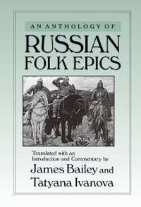 Cover Anthology of Russian Folk Epics