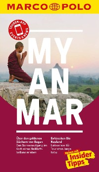 Cover MARCO POLO Reiseführer Myanmar