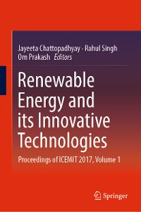 Cover Renewable Energy and its Innovative Technologies