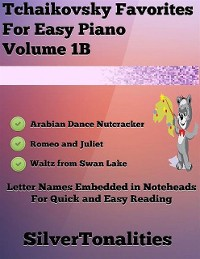 Cover Tchaikovsky Favorites for Easy Piano Volume 1 B