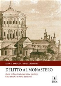 Cover Delitto al monastero