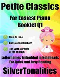 Cover Petite Classics for Easiest Piano Booklet Q1