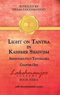 Cover Light on Tantra in Kashmir Shaivism