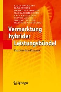 Cover Vermarktung hybrider Leistungsbündel
