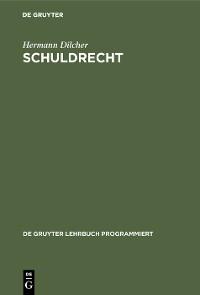 Cover Schuldrecht
