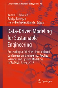 Cover Data-Driven Modeling for Sustainable Engineering