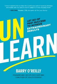 Cover Unlearn: Let Go of Past Success to Achieve Extraordinary Results