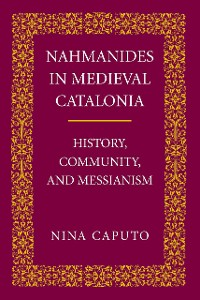 Cover Nahmanides in Medieval Catalonia