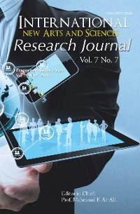Cover International New Arts and Sciences Research Journal