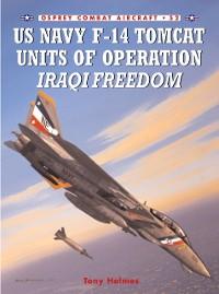 Cover US Navy F-14 Tomcat Units of Operation Iraqi Freedom
