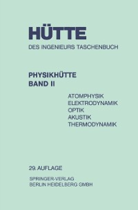 Cover Physikhutte