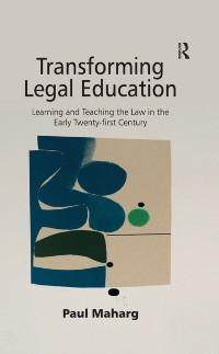 Cover Transforming Legal Education