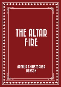 Cover The Altar Fire