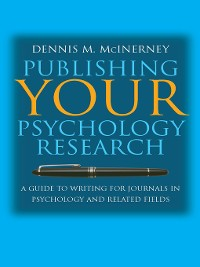 Cover Publishing Your Psychology Research