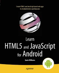 Cover Learn HTML5 and JavaScript for Android