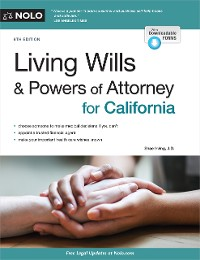 Cover Living Wills and Powers of Attorney for California