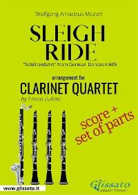 Cover Sleigh Ride - Clarinet quartet score & parts