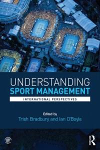 Cover Understanding Sport Management