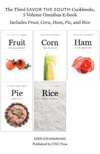 Cover The Third Savor the South Cookbooks, 5 Volume Omnibus E-book